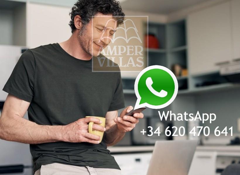 whatsapp en Ampervillas