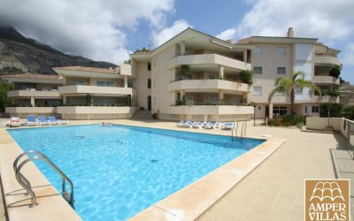 Apartment with fabulous views in Altea Golf