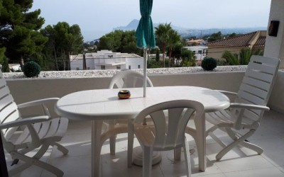 Townhouse with shared pool and garden in Altea