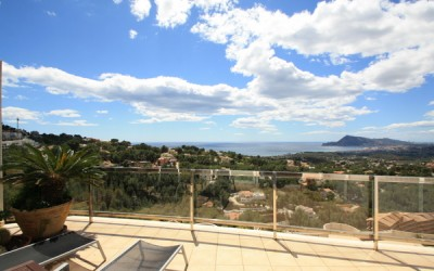 Penthouse for sale with sea views in Altea Costa Blanca