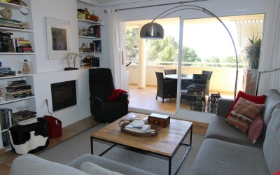 Very cozy apartment for sale with sea views in Altea